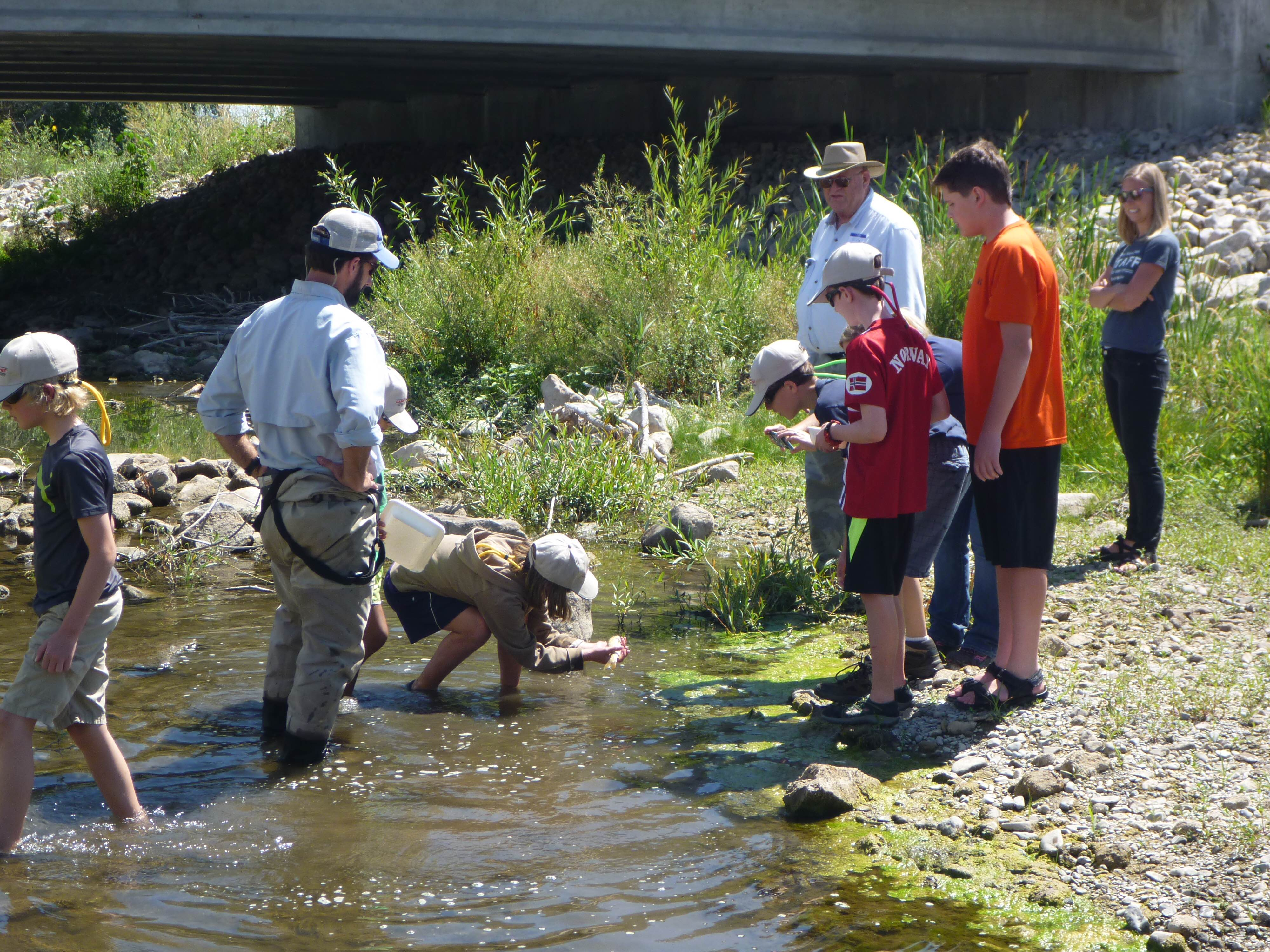 July 20-22 Kids fly fishing camp in conjunction with Stokes Nature